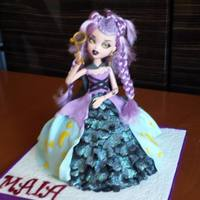 Monster High Doll Cakes *