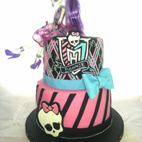 My Daughters 10Th Birthday Cake ( Monster High )