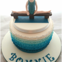 My Daughter's Gymnastics Cake