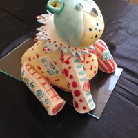 Patchwork Stuffed Toy Cake
