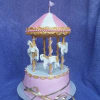 I Have This Carousel Cake Listed Under Baby Shower But It Can Also Be Used As Part Of A Baptism Cake Or Even The Top Of A Wedding Cake Dep... I have this carousel cake listed under baby shower but it can also be used as (part of) a baptism cake or even the top of a wedding cake...