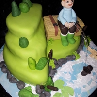 Lets Go Fishing Cake