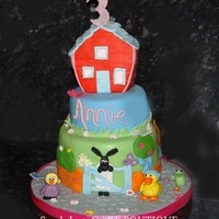 Timmy Time 3 Tier Cake