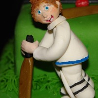 Cricket Cake Three Tiers Fruit Cricket cake three tiers fruit