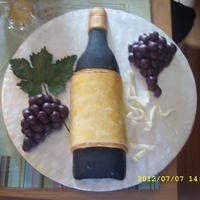 Vintage Wine, Birthday Cake