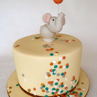 Baby Shower Elephant I have waited a long time to make a confetti decorated cake. I have also been waiting a long time to use a tutorial by Sharon Wee for this...