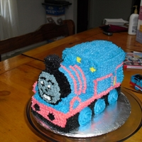 Thomas The Train   our first 3D cake