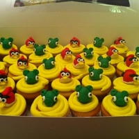 Angry Birds Made From Rkt And Fondant Angry Birds made from RKT and fondant.