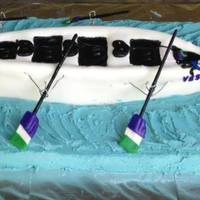 Crew Rowing Cake Crew rowing cake for James River High School*
