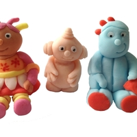 In The Night Garden! Upsy Daisy, Macca Pacca and Iggle Piggle Figures