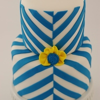 30Th Birthday Cake Wanted A Variation Of A Chevron Pattern This Is What I Cam Up With It Was For A Guy So I Wanted To Keep It Simpl  30th Birthday Cake... Wanted a variation of a chevron pattern... This is what I cam up with! It was for a guy, so I wanted to keep it...