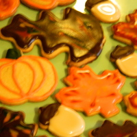 Fall Cookies Leaves Acorns Pumpkins Trees Sugar Cookies Using Toba Garetts Glace Fall cookies. Leaves, acorns, pumpkins, trees. Sugar cookies using Toba Garett's Glace