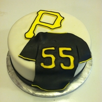 "Pirates Baseball 8"" MMF Pirates Jersey and birthday boy's age!"