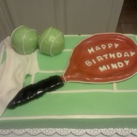Tennis Birthday MMF, RKT tennis balls