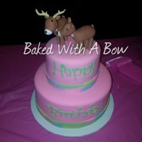 Girly20Deer20Cake