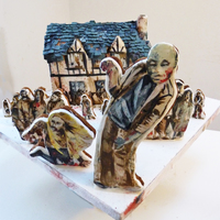 This Is A Gingerdead House I Made For Some Friends To Promote Their Zombie App Run Run As Fast As You Can You Cant Escape Me Im The Gin This is a gingerdead house I made for some friends to promote their zombie app. Run, run as fast as you can, you can't escape me I&#...