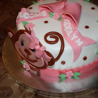 Monkey Baby Shower Monkey Baby Shower cake