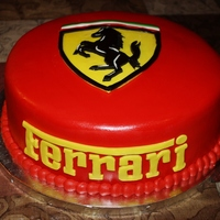 Ferrari Cake Perfect for the Ferrari fan!