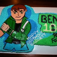 Ben 10 Alien Force Ben 10 Alien force sheet cake for a little boy turning 6
