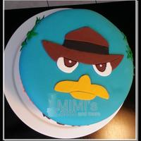 Phineas And Ferb (Perry The Platypus) Cake Phineas and Ferb (Perry the Platypus) Cake