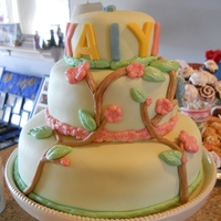 My Niece's 1St Birthday Cake!