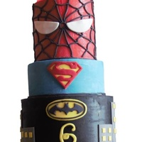 Super Harry Cake Used coloured ganache instead of fondant. Awesome