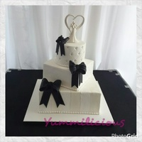 Jess And Jay Wedding Cake
