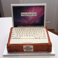 Macbook Cake Macbook Cake