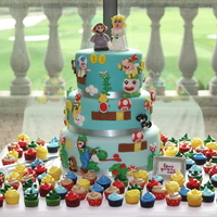 Super Mario Wedding Cake Super Mario Wedding Cake