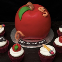 Apple Cake Amp Teacher Cupcakes Apple Cake & Teacher Cupcakes
