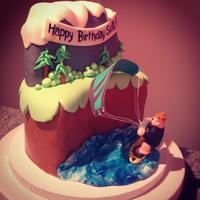 Kite Surfing Cake *Kite Surfing Cake