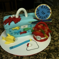 First Birthday Tackle Box