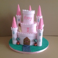 Castle Cake For My Granddaughter   Castle cake for my granddaughter