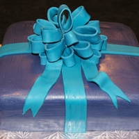 Present Cake Wrapped Present Cake