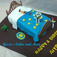 Toy Story The Boards where made out of fondant with the Template one of the Ladies on here posted ty. This was a Chocolate Cake filled with Twinkie/...