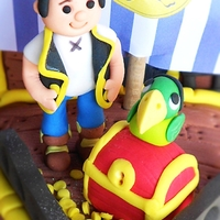 Jake & The Neverland Pirates Ship Cake