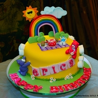 A Birthday Cake For My Friend's Lovely Daughter!   A birthday cake for my friend's lovely daughter!