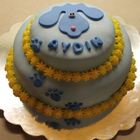 Simple Blues Clues Cake