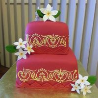 This Was A Cake For And Indian Wedding *This was a cake for and Indian wedding
