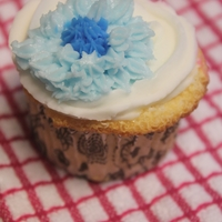 Flower Cupcake   Buttercream flower