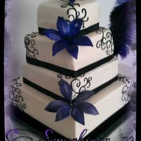 Black And Purple 4 Tier *