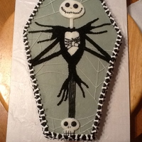 Nightmare Before Christmas Birthday Cake All Buttercream   Nightmare before Christmas birthday cake. All buttercream