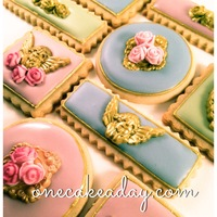 Romantic Cookies My cookies inspired in parisian colors and style