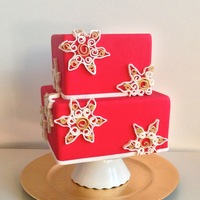 Quilled Christmas Cake Tutorial Quilled Christmas Cake at the Wilton Blog
