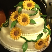 Niece's Bridal Shower a bridal shower with a sunflower theme..
