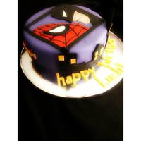 Batman/spiderman Cake   *