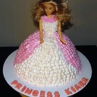 Princess/barbie Cake Using Wonder Mold Pan