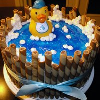 Rubber Ducky Cake...inspiration From Cake Central! Rubber ducky cake