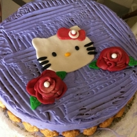 Hello Kitty A quick cake that I made for my niece. I know the icing doesn't look perfect but I iced this in literally just 5 minutes because my...