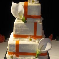 Love X 3 Buttercream with fondant accents